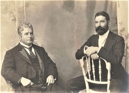 Edmund Barton and Alfred Deakin, 1st and 2nd Prime Minister of Australia both had English parents.