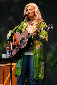 Eleven-time nominee and 1980 recipient Emmylou Harris.