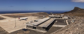 The airport of Saint Helena