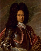Portrait of an aristocrat, believed to be James Francis Edward Stuart in Armor (c1680-1730)