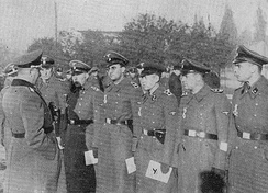 SiPo officers in occupied Warsaw