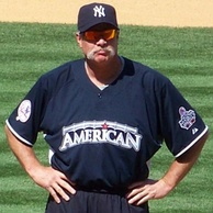 Gossage at the All-Star Legends and Celebrity Softball Game during the 2008 All-Star break.