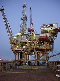 Offshore platform, Gulf of Mexico