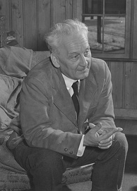 "Albert Szent-Györgyi, pictured here in 1948, was awarded the 1937 Nobel Prize in Medicine ""for his discoveries in connection with the biological combustion processes, with special reference to vitamin C and the catalysis of fumaric acid"".[21]"