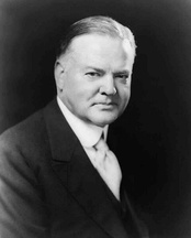 Herbert Hoover (BS 1895), 31st President of the United States, founder of Hoover Institution at Stanford, recipient of the Uncommon Man award