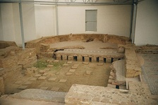 Late Roman owners of villas had luxuries like hypocaust-heated rooms with mosaics