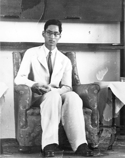 King Ananda Mahidol in 1946