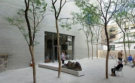 Courtyard of the Kolumba museum in 2007, designed by Peter Zumthor