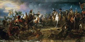 Napoleon at the battle of Austerlitz, by François Pascal Simon, Baron Gérard