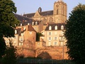Gallo-Roman walls and Cathedral in Le Mans