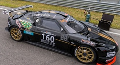 Cor Euser Racing Lotus Evora GT4 at the 2015 12 Hours of Zandvoort