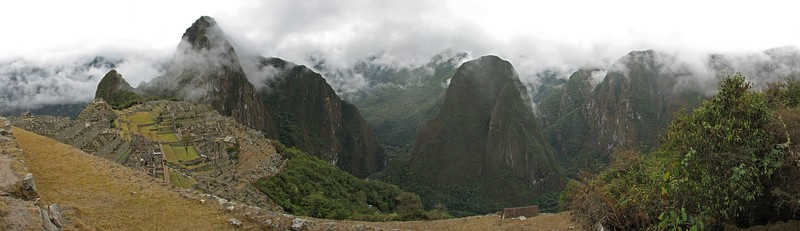 Панорама Мачу-Пикчу
