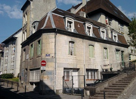 The house in Besançon in which Proudhon was born