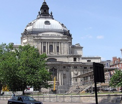 Methodist Central Hall, London, the location of the first meeting of the United Nations General Assembly in 1946.[6]