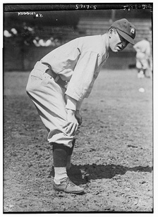 Huggins with the Yankees in 1922