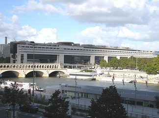 The seat of the Ministry of Finance at Bercy in Paris