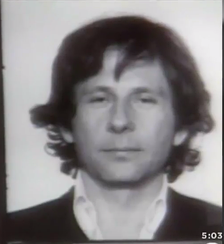 Mugshot of Polanski following his 1977 arrest