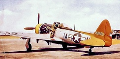 Republic P-47D-30-RA Thunderbolt Serial No. 44-33240 of the 356th Fighter Squadron