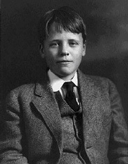 Quentin (shown here at age 13) was as gifted intellectually as his father and sailed through Groton and Harvard.