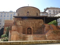 The Church of Saint George in Sofia is the oldest church in Bulgaria.