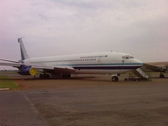 Retired South African Air Force Boeing 707-328C at the South African Air Force Museum, Pretoria