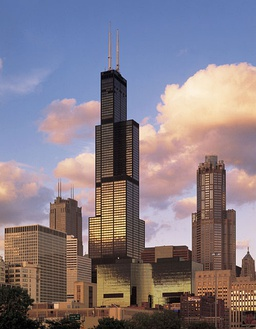 "The Willis Tower in Chicago was the world's tallest building from 1974 to 1998; many still refer to it as the ""Sears Tower,"" its name from inception to 2009."