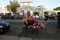 Day of the Dead float, Pima County Public Library, 2009 procession