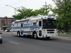 NYPD Medical Operations bus (Thomas EFX)