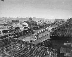 Otamachi in the Meiji era