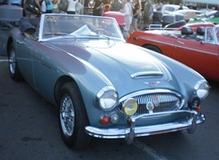 1966 Mark III BJ8 sports convertible (North America)