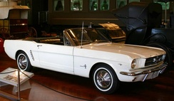 Mustang Serial #1, the first car launched in 1964