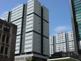 The Blythswood Court estate in Anderston, one of many high-rise schemes in the city constructed in the 1960s and 1970s