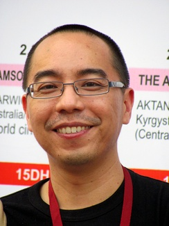 Apichatpong Weerasethakul, winner of the 2010 Palme d'Or