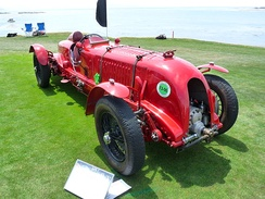 Tim Birkin's Bentley Blower No.1, shown at the 2009 Pebble Beach Concours d'Elegance