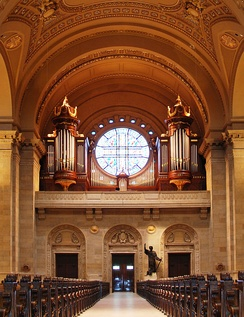 May 15, 2013 - Cathedral of Saint Paul Organ Case