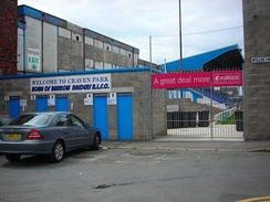 Craven Park, home of Barrow Raiders