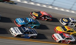 Ragan (No. 36) in the 2020 Daytona 500