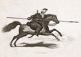 Don Cossack in the early 1800s