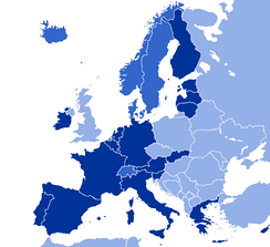 GNI PPP per capita of Europe according to the World Bank, 2017.   Nations in the Eurozone, at 44,000 USD   Nations with a GNI PPP per capita above 44,000 USD   Nations with a GNI PPP per capita below 44,000 USD