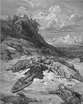 """Death of Frederick of Germany"" by Gustav Dore"