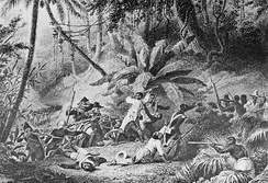 "Battle at ""Snake Gully"" in 1802"