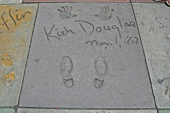 Hands and footprints at Grauman's Chinese Theatre
