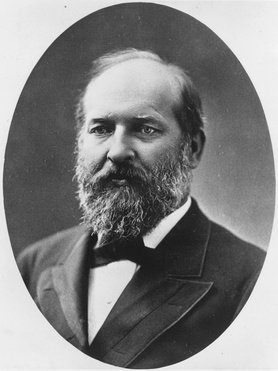 James A. Garfield emerged as the unexpected Republican nominee after delivering a nominating speech for Sherman.