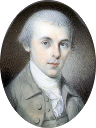 Congressman Madison, age 32 by Charles Willson Peale