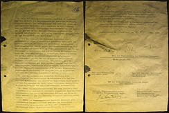German Instrument of Surrender, 8 May 1945 – Berlin-Karlshorst