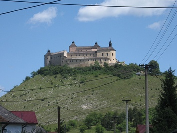 A castle, the symbol of the rule of aristocracy in medieval Europe (Krásna Hôrka in Slovakia).