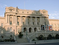 The Thomas Jefferson Building at the Library of Congress