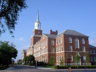 The University of Cincinnati's McMicken Hall.