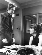 "Douglas (left) as Steve Keller, with Janice Rule as Beverly Landau in ""The First Day of Forever"" (season one, episode two)"