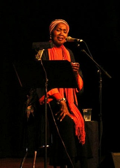 Odetta performing in 2006